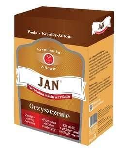 """Krynica-Zdrój """"JAN"""" - 5 l - Naturalna mineralna woda lecznicza z uzdrowiska - Szczawa silnie hipoosmotyczna"""