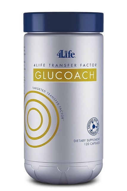 4Life Transfer Factor™ Glucoach™ (120 kap.) - Suplement diety 4Life Research, USA